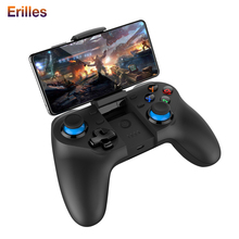 Bluetooth 4.0 Joystick Gamepad for Android/IOS Gaming Wireless Controller Game Pad Fire Pugb PC Smartphone Trigger Console Pad ipega android gamepad for pc joystick 2 4g bluetooth wireless handle game pad for sony ps3 ios smartphone game controller 9076