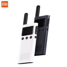 Переговорная рация xiaomi mijia walkie talkie 1s и fm радио