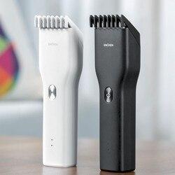 Xiaomi enchen clippers de cabelo elétrico para homem clippers sem fio adulto navalha profissional aparadores canto navalha hairdesse