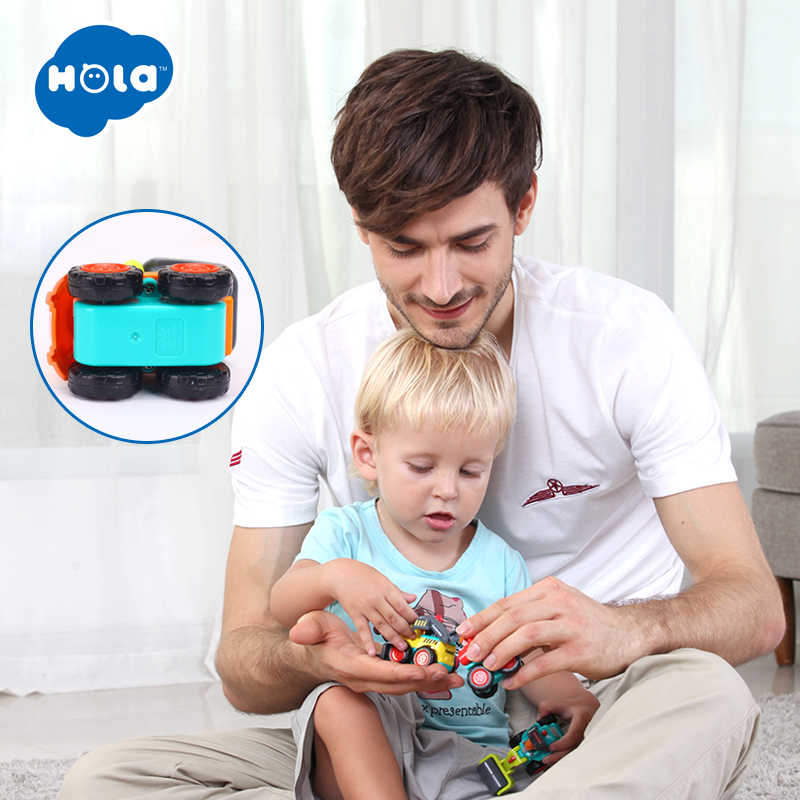 HOLA 3116C Baby Toys Construction Vehicle Cars- Forklift, Bulldozer, Road Roller, Excavator, Dump Truck, Tractor Toys for Boy