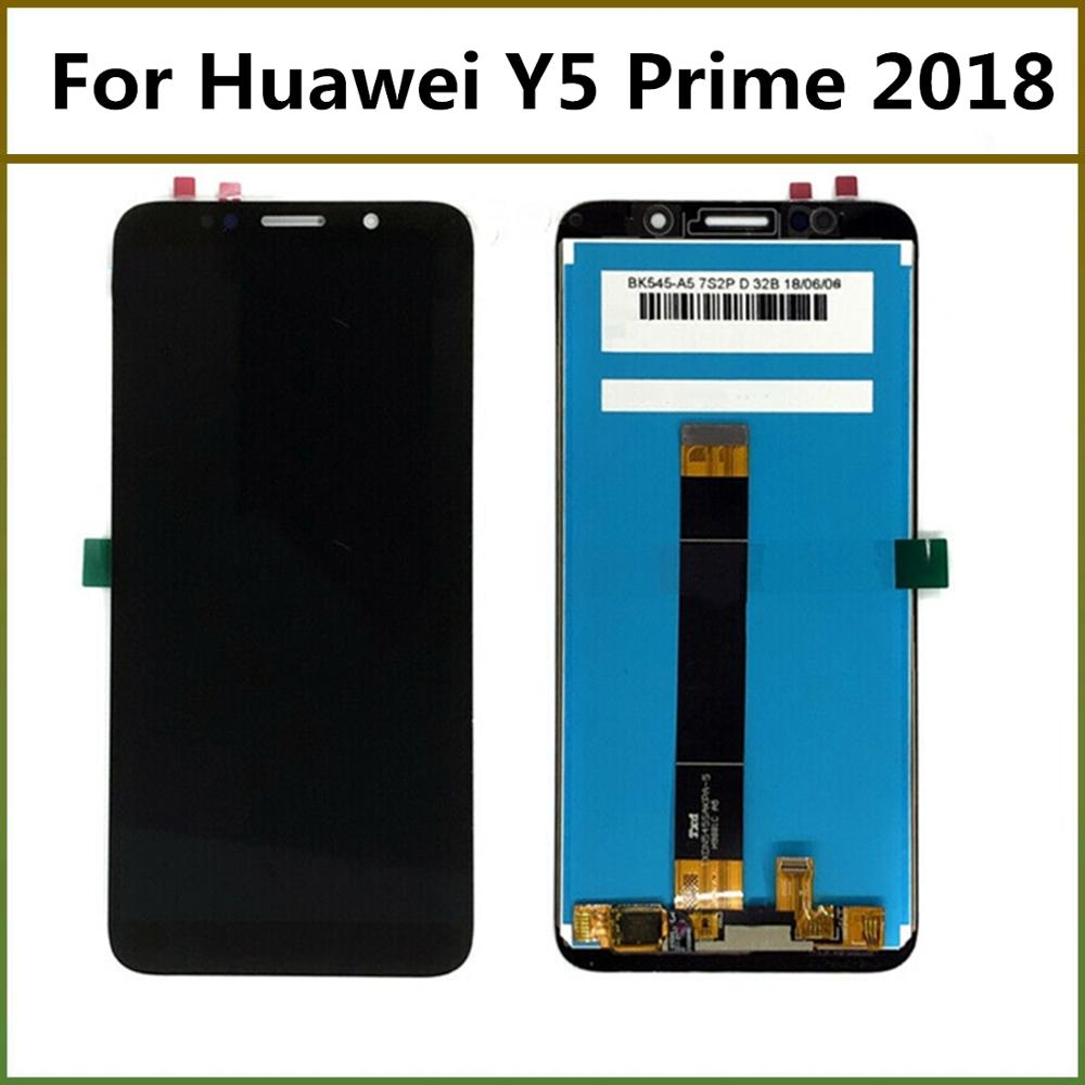5.45'' For <font><b>Huawei</b></font> Y5 prime 2018 Y5 2018 LCD Display Touch Screen Digitizer Assembly For <font><b>Huawei</b></font> Y5 Pro 2018 <font><b>DRA</b></font>-L02 L22 LX2 BLK image