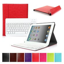 9.7 Inch Case For IPad 2 3 4 With Detachable Wireless Bluetooth Keyboard for Tablet