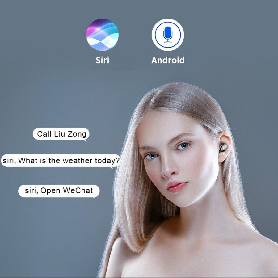 Wireless Earphone Bluetooth 5.0 F9 TWS with 2000mAh Battery 5