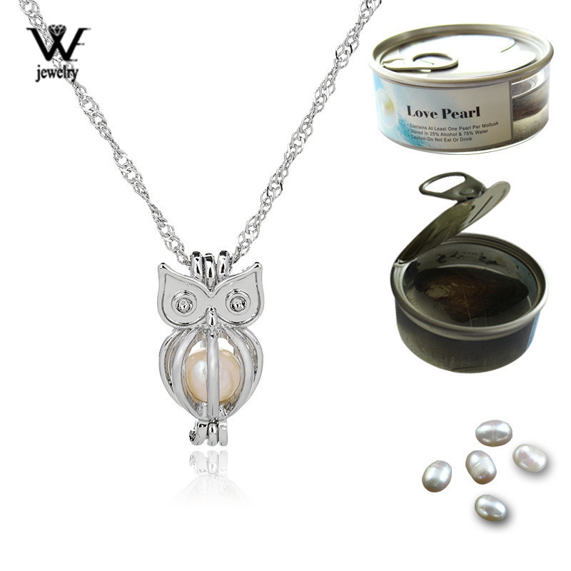 5pcs//lot Bright Silver Mask Locket Pendant Pearl Cage Beads Floating L604