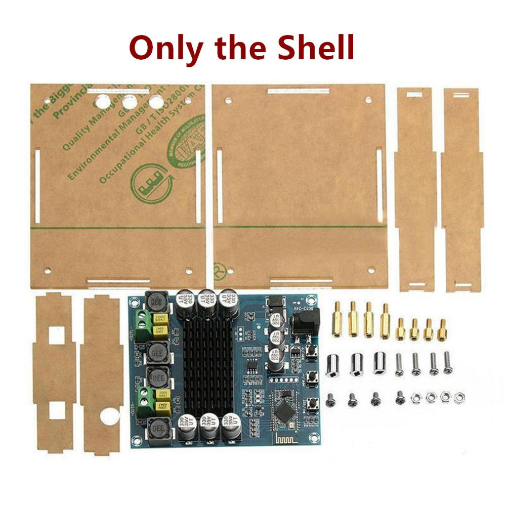 only the shell  TPA3116D2 Professional 120Wx2 Digital Bluetooth 4 0 Audio Receiver Amplifier Module Board Shell Acrylic Case