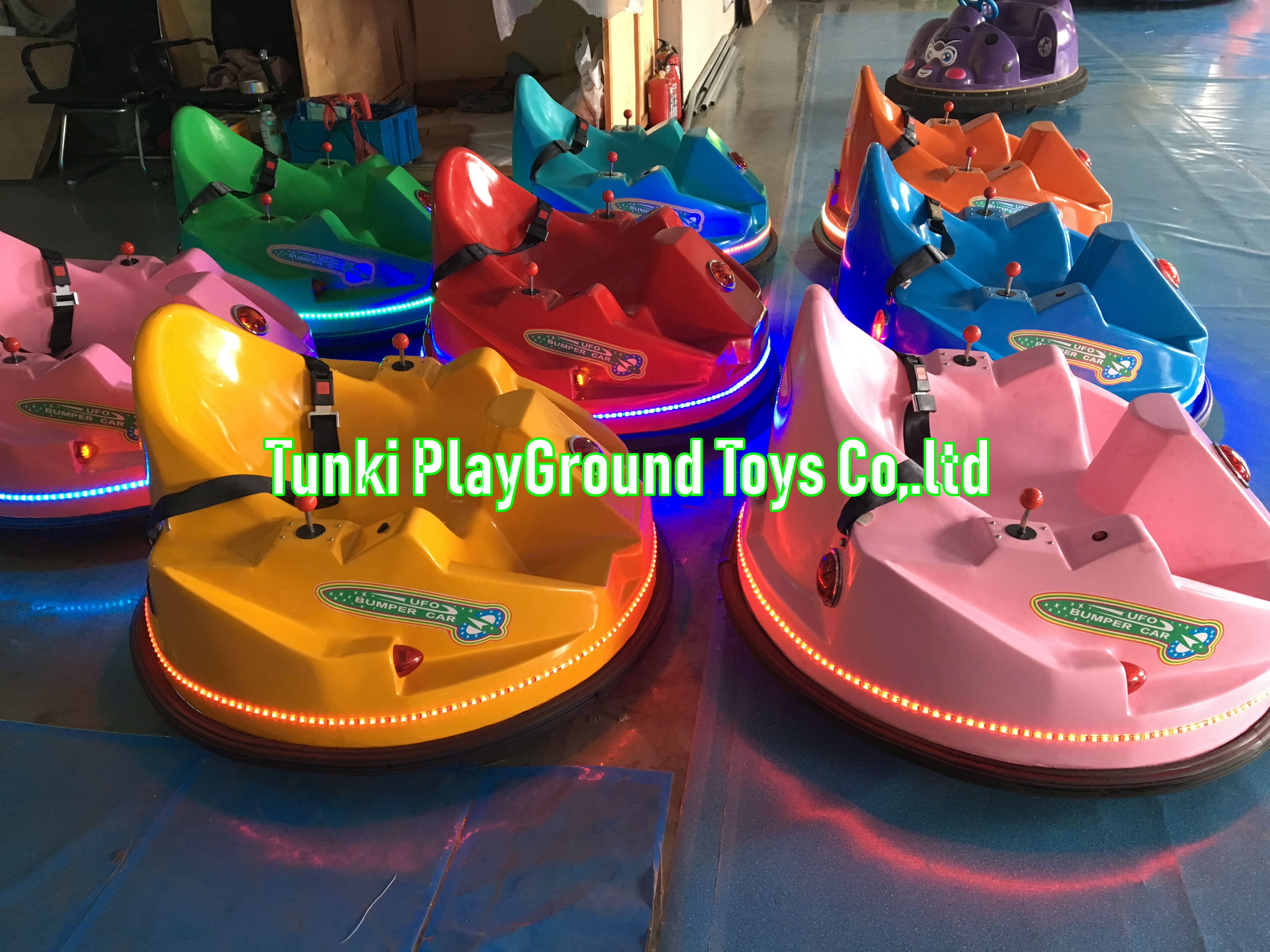 Kids Bumper Car UFO Rotation Car Inflatable Car