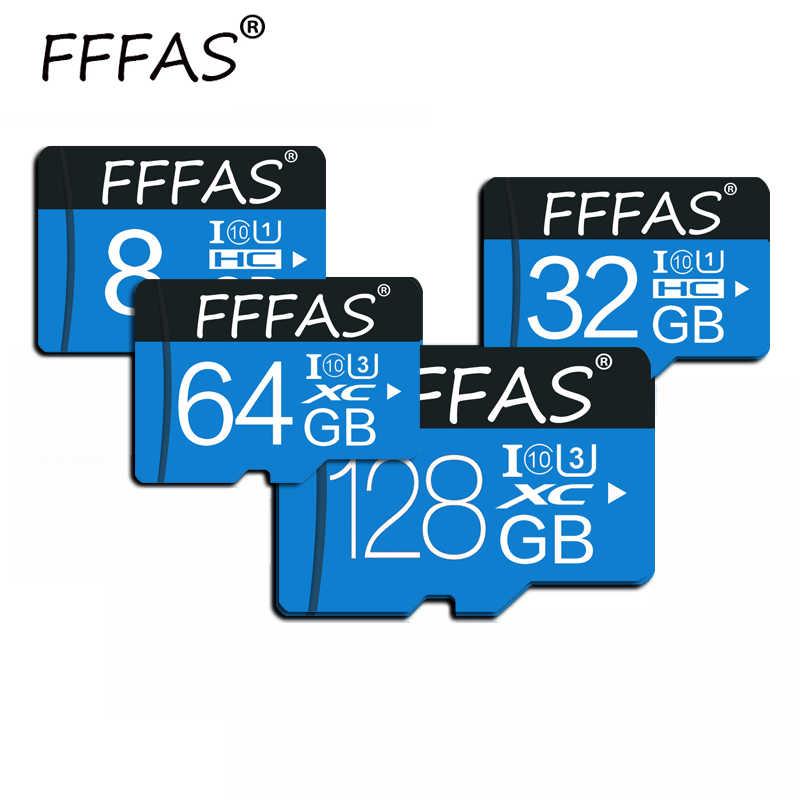 100% אמיתי קיבולת micro sd כרטיס SDHC 128GB 64GB 32GB 16GB 8GB carte זיכרון כרטיס במהירות גבוהה microsd עבור SmartPhone טבליות