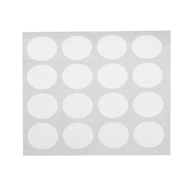 5 Sheets French Manicure Round Edge Tip Guides Nail Art Sticker