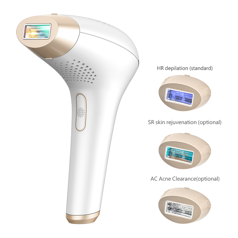 IPL Laser Epilator 500000 Shots Permanent Hair Removal Machine Acne Clearance Skin Rejuvenation Electric Depilador Laser