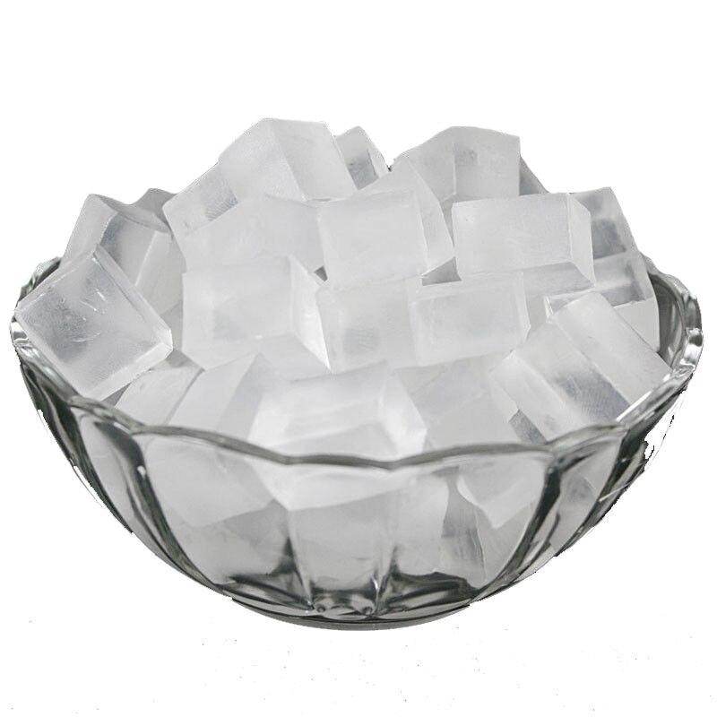 New 100 Grams Transparent Soap Base DIY Handmade Soap Making Raw Material 100g Soap Hand Making Supplies