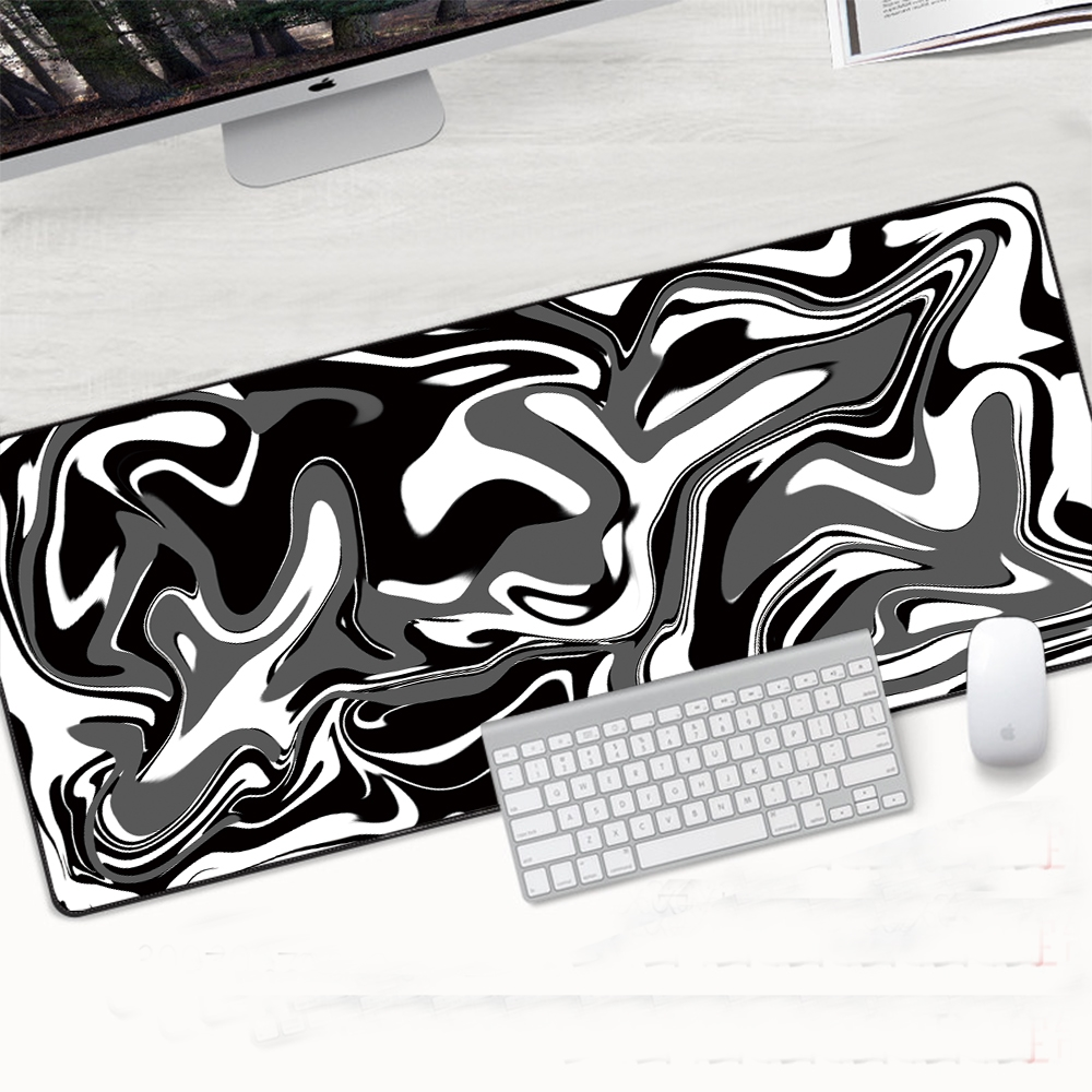 XL Gaming Mouse Pad Large Mouse Pad Gamer Mouse Mat Computer Mousepad Rubber Mause Pad Abstract Lines Keyboard Desk Play Mats