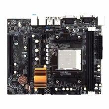 Sıcak 3C N68 C61 masaüstü bilgisayar anakartı desteği Am2 için Am3 Cpu Ddr2 + Ddr3 bellek anakart 4 Sata2 bağlantı noktaları