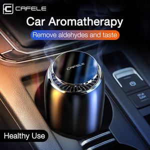 Cafele Diffuser Car-Air-Freshener Flavoring for Perfume Solid-Smell Auto-Aroma Purifier