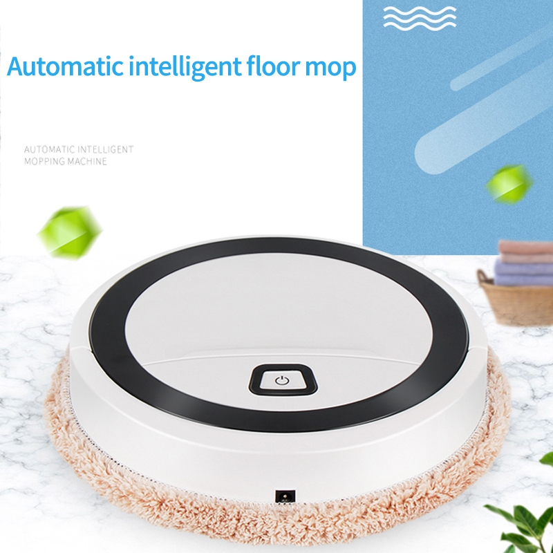 Auto Robot Vacuum Cleaner Cleaning Home Automatic Mop Dust Clean Functional Sweep For Sweep&Wet Floors&Carpet&Home Use