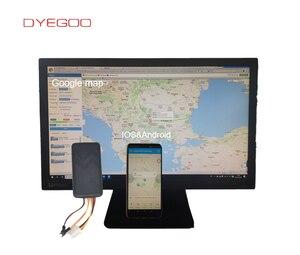 Image 5 - Dyegoo車両gsm gpsトラッカーGT06 リレー車バイク用ロケータ追跡装置googleのリンク送料無料