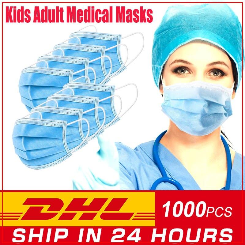 Masque Mascarillas Facial Lavable Antivirus Kn99 Respirator Artificial Medico Flu Ffp2 3m DHL Maseczka Bawełniana Antysmogowa