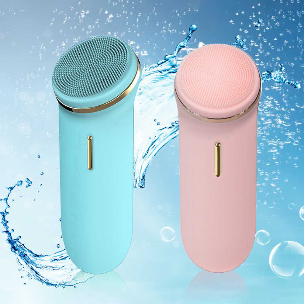 Usb Facial Cleansing Ems Electric Facial Cleanser Massage Skin