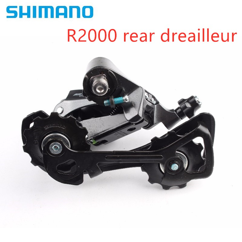 Shimano <font><b>Claris</b></font> <font><b>R2000</b></font> 8 speed SS Short Rear Derailleur GS Medium Rear Derailleur SS/GS 8 speed Road Bike Rear Derailleur image