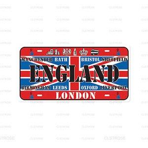 Настенный стикер в виде флага стран, знаменитый Настенный декор для кафе, магазина, бара, паба, металлический Железный знак