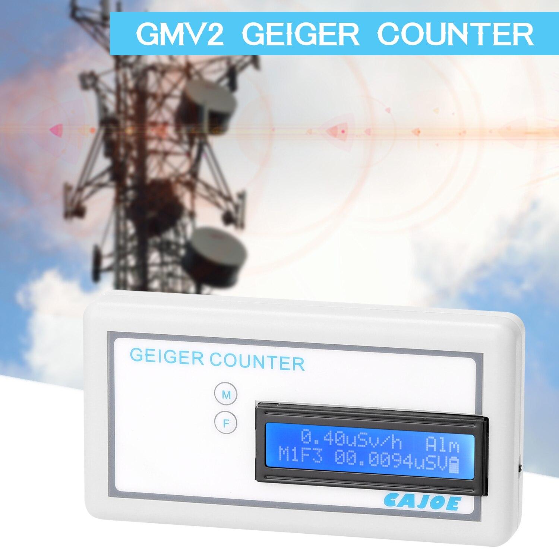 GMV2 Портативный счетчик Гейгера, собранный детектор ядерного излучения γ β X Ray