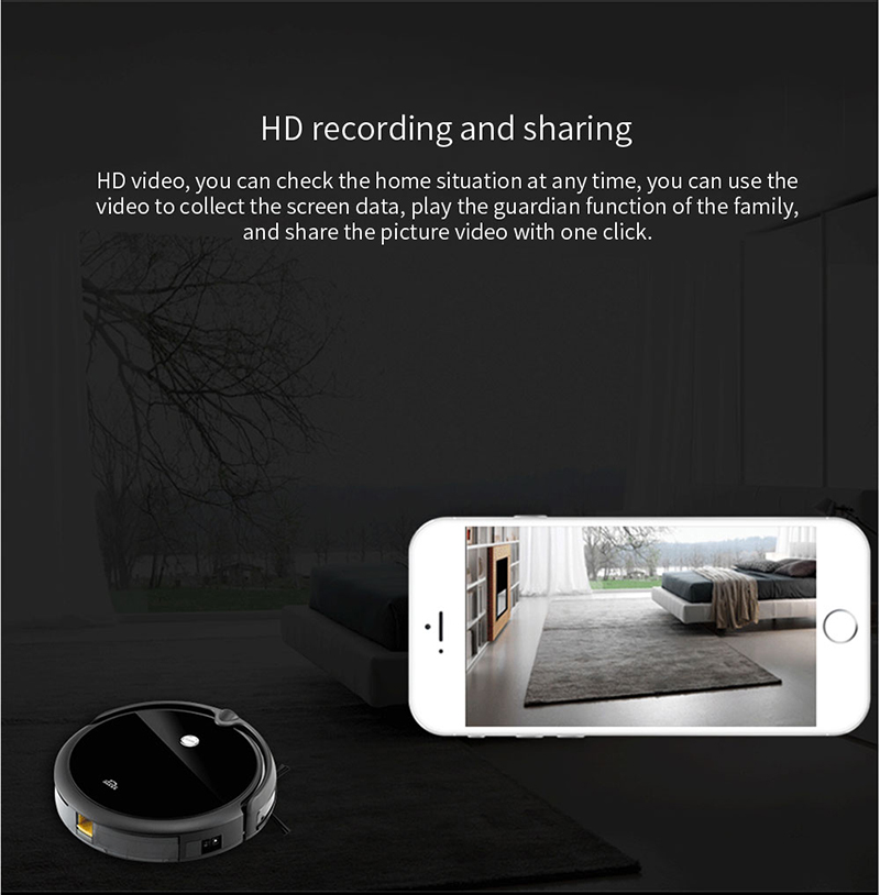 Hade64f0d488844358b02290d6b6266d6U IMASS A3S Robot Vacuum Cleaner Powerful Suction For Camera Navigation Various Cleaning Mode With APP Control Auto Charge Mopping