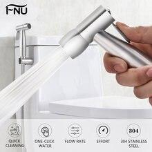 Ручной Биде Туалет опрыскиватель набор Ванная комната ткань