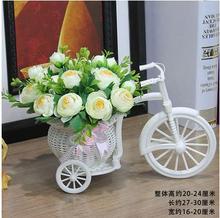 цена на Living room furnishings set of decorations simulation floats home plastic fake flowers small ornaments dried bouquet