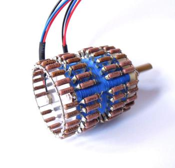 1pcs HIFI 24-Step Stereo Attenuator Potentiometer 10K 25K 50K 100K 250K dale resistance  audio pot