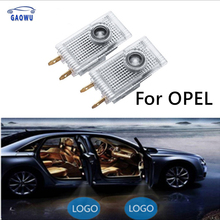 цена на 2Pcs Car Logo Door Welcome Light LED Projector Laser For Opel Insignia 2009 2010 2011 2014 2018 2013 2015 2016 2017 Accessories