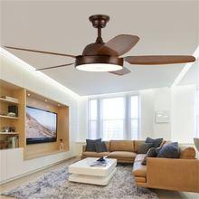 Sarok потолочный вентилятор светильник коричневого цвета с пультом