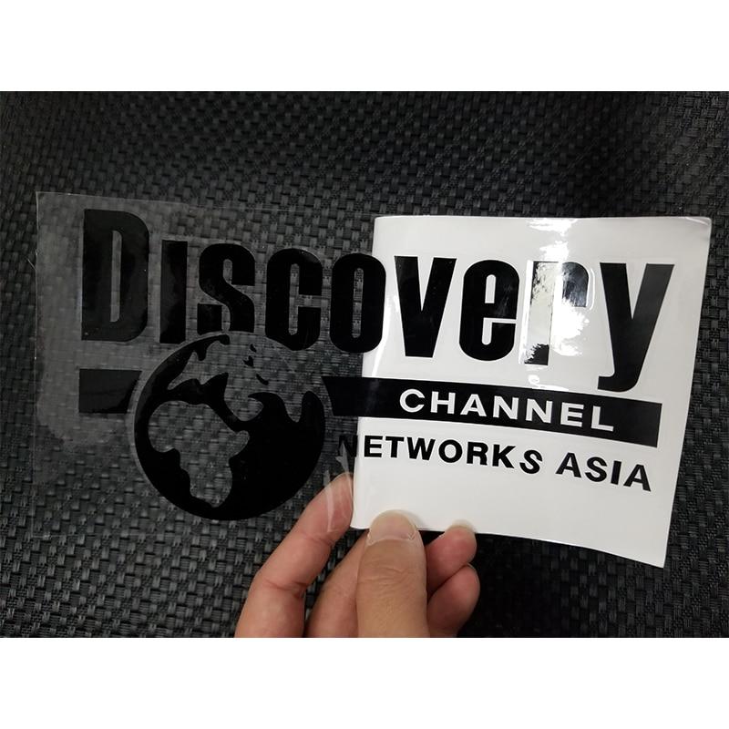 Custom Logo Printed Die Cut Vinyl Transfer Car Stickers