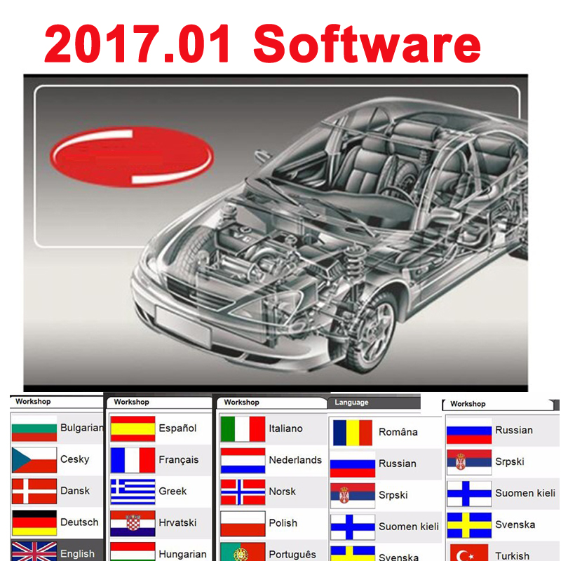 2017,01 neueste Original Software 2016.R0 Freies aktivierung Für diagnose mvd Multidiag Pro + Autos Lkw diagnose scanner