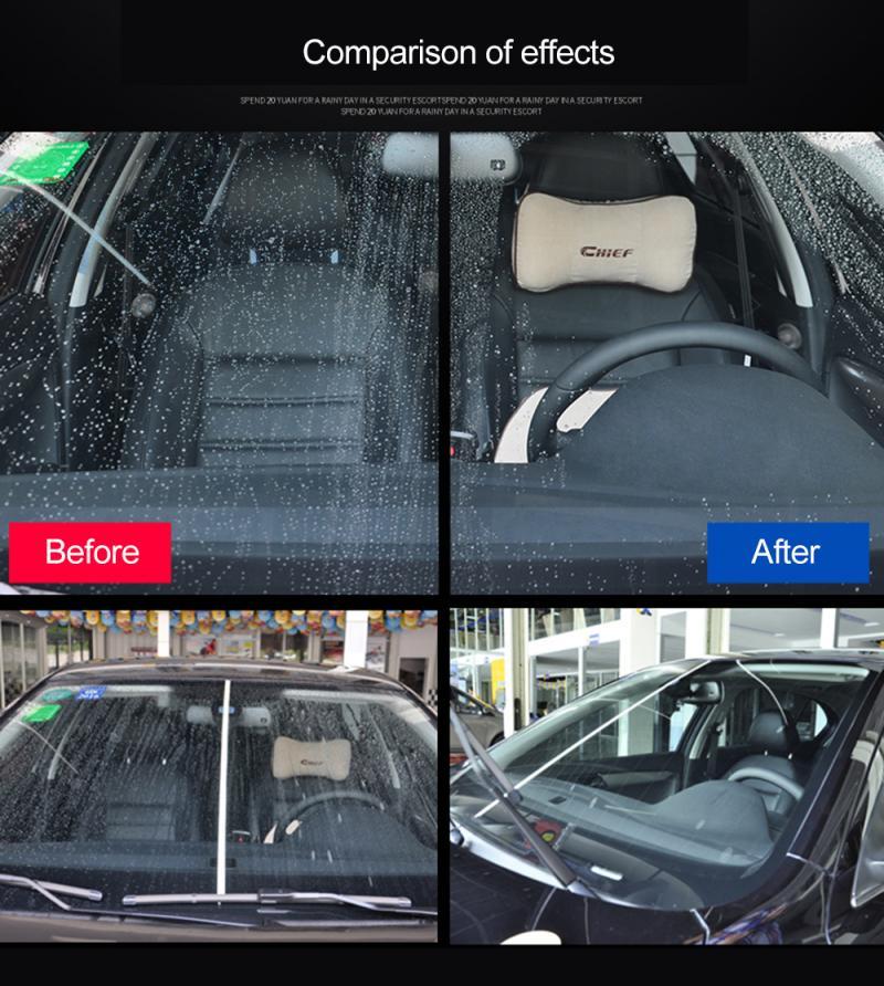 100ml Car Front Windshield Anti-Rain Agent Rear-View Mirror Coating Agent Waterproof Rainproof Anti-fog Spray Car Rear-View