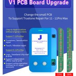 Новый JC V1 датчик света истинный тон Ремонт viration восстановление для 6 7 Plus 8 Plus X XS MAX XR сенсорный чип JC PRO 1000S программист