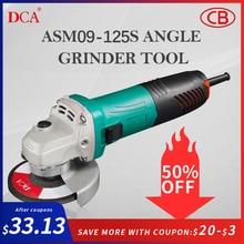 Dca электрический угловой шлифовальный инструмент режущий станок