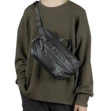 Su geçirmez erkek omuz çantası sokak Trend göğüs çantası Unisex rahat Crossbody çanta çanta Oxford tek omuz askısı paketi