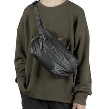 Wasserdicht Männer Schulter Tasche Straße Trend Brust Tasche Unisex Casual Umhängetasche Tasche Tasche Oxford Einzigen Schulter Strap Pack