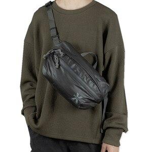 Image 1 - Waterproof Men Shoulder Bag Street Trend Chest Bag Unisex Casual Crossbody Bag Bag Oxford Single Shoulder Strap Pack