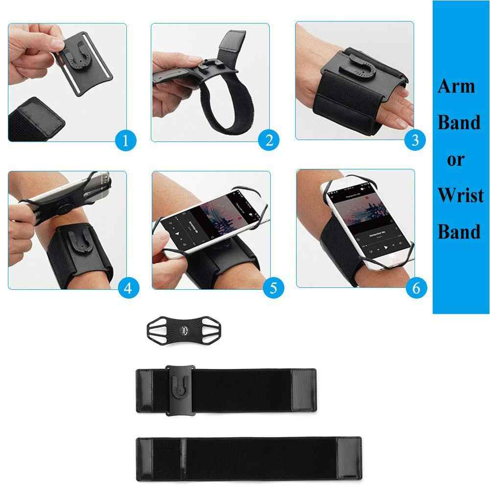 Odpinany treningu opaska sportowa SUPCASE szybkiego montażu telefon opaska na ramię do iPhone'a X/XS Max/XR, dla Galaxy Note 9/S9/S8 Plus