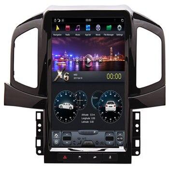 "13.6"" Tesla Android Car Stereo Radio Audio DVD GPS Navigation Head Unit Sat Nav for Chevrolet Captiva 2013 2014 2015 2016 2017"