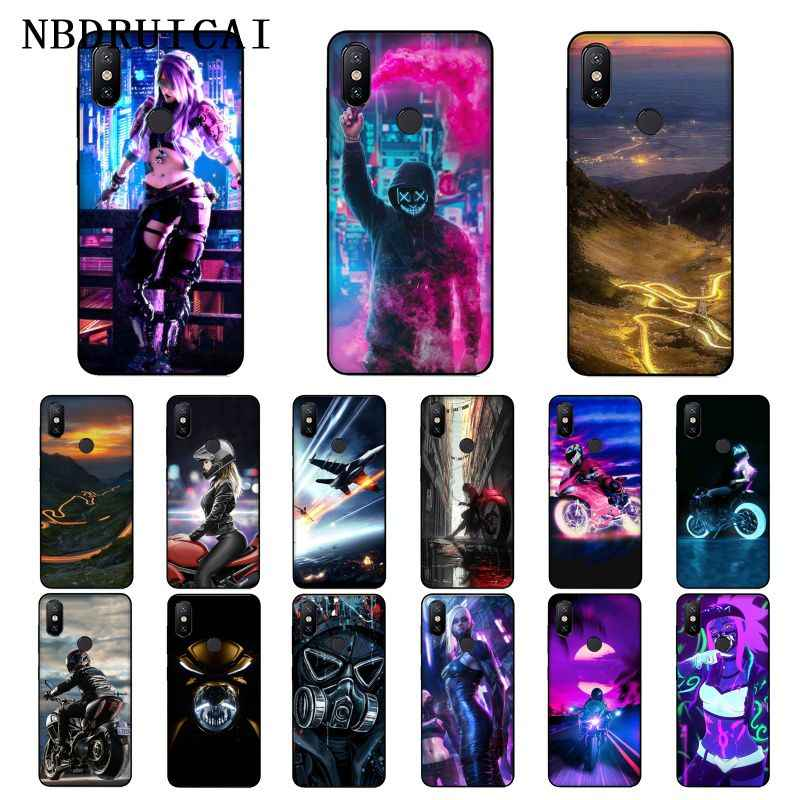 NBDRUICAI Straße Marke für Jungen und Mädchen für Honor Telefon Fall für Xiaomi 8 9 se 5X Redmi 6pro 6A 4X7 5plus note 5 7 6pro