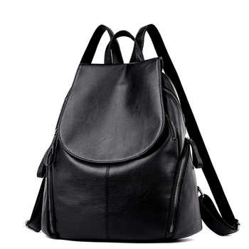 Backpack Women\'s Trend Medium Sized Youth Travel Backpack Leisure Schoolbag