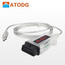 Els27 forscan scanner automotivo, 2.2.6, para ford mazda/ford mazda/ford/mercury veículos obd2, suporte para diagnóstico elm327 j2534