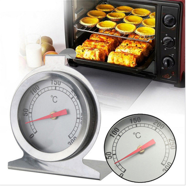0-400 Celsius Stainless Steel Oven Thermometer Mini Dial Stand Up Temperature Gauge Gage Food Meat Kitchen Tools Oven Cooker 4