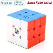 цена на YuXin Black Kylin 3x3x3 Magic Cube ZhiSheng Unicorn 3x3 Speed Twisty Puzzle Brain Teaser Educational Toys For Children