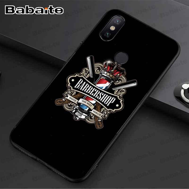 Lucu Huruf Toko Tukang Cukur Rambut Mewah Unik Desain Ponsel Cover untuk Redmi 7 5Plus 5A 6pro 4 Note5A Note6pro note7 Cover