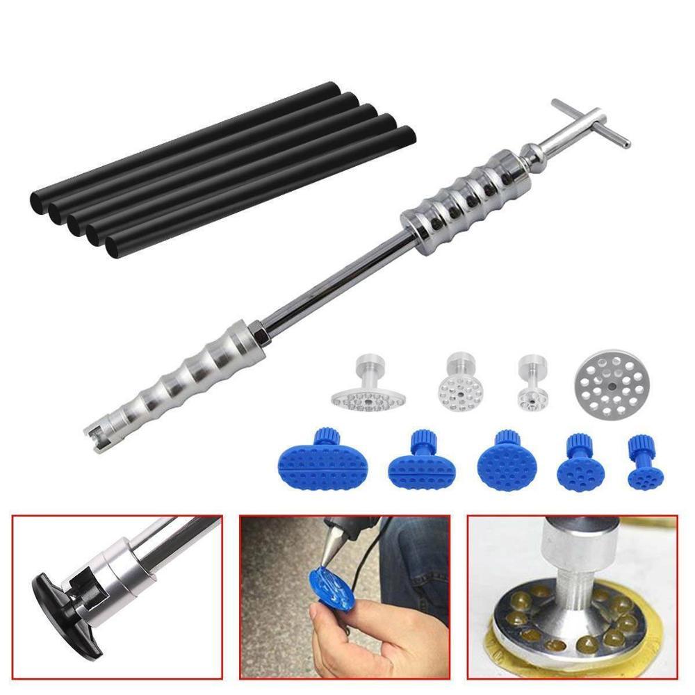 Car Paintless Dent Removal Kit Dent removal Slide Hammer glue sticks Reverse Hammer Glue Tabs Car Ha