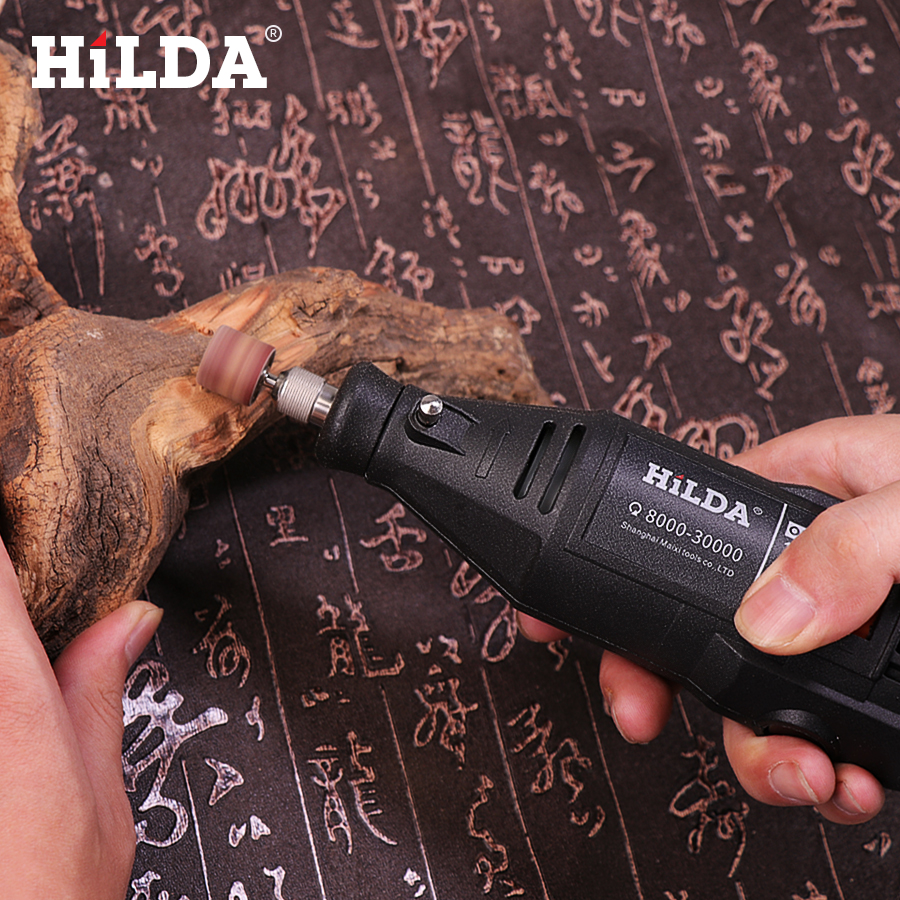 HILDA Electric Power Drills with Copper Motor for Wax Polishing and Seal Engraving 5