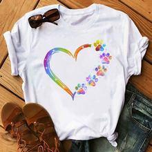 Женские футболки женские maycaur акварельные милые летние повседневные