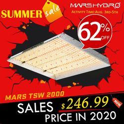 Новинка! Mars Hydro TSW 2000W светодиодный светильник для выращивания солнца, полный спектр для Veg и Bloom гидропоники